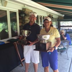 2015 EACC Club Champions Billy Hanes and Lori Potter